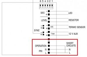 LED-EVG Maxi Jolly Midnight TCI Beschaltung